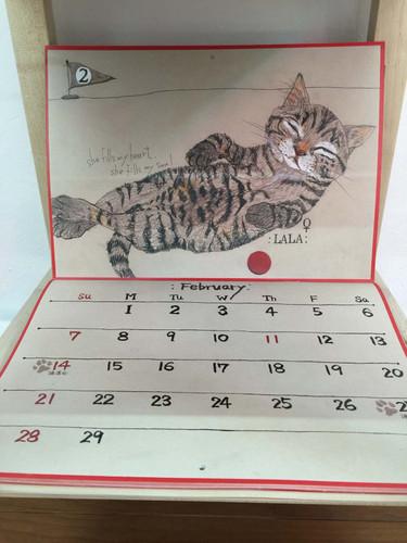 2016年2月 猫バージョン